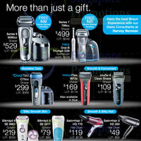 Read more about Braun Shavers, Epilators & Hair Dryers Offers @ Harvey Norman 7 - 30 Apr 2016