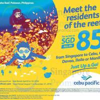 Read more about Cebu Pacific fr $85 all-in Davao, Iloilo, Clark & Cebu Promo Fares 8 - 10 Apr 2016