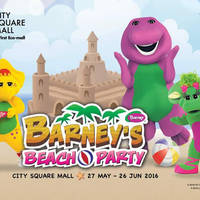 It's a Beach Escape at City Square Mall! Soak in the sand-sational line-up of activities and promotions with your family this June school holidays