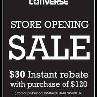 Read more about Converse Opening Promotion at Parkway Parade 22 Apr - 1 May 2016