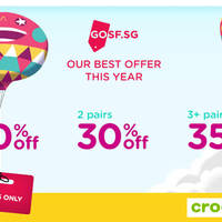 Read more about Crocs 20% to 35% Off Storewide from 25 - 27 Apr 2016