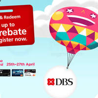 Read more about DBS/POSB Registration for Online Spend Cash Rebate from 11 - 20 Apr 2016