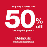 Read more about Desigual 50% Off @ IMM From 8 Apr 2016