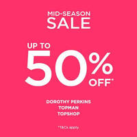 Read more about Dorothy Perkins, Topman & Topshop Mid Season Sale From 21 Apr 2016