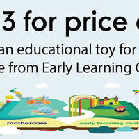 Read more about Early Learning Centre Buy 2 Get 1 Free Storewide 4 Apr - 31 Jul 2016