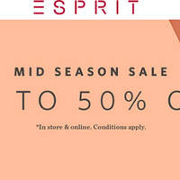 Read more about Esprit Mid Season Sale From 12 Apr 2016