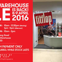 Read more about FitFlop Warehouse Sale 8 - 9 Apr 2016