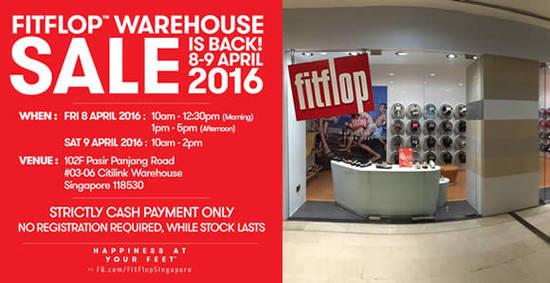 FitFlop Warehouse Sale Feat 5 Apr 2016