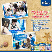 Read more about Friso Experiences Roadshow @ Waterway Point 9 - 10 Apr 2016