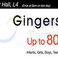 Read more about Gingersnaps Up To 80% Off @ Shaw House 8 - 14 Apr 2016