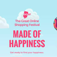 Read more about Great Online Shopping Festival (GOSF) from 25 - 27 Apr 2016
