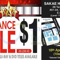 Read more about HNV DVD & Blu-Ray Clearance Sale 18 - 24 Apr 2016