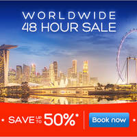Read more about Hotels.Com 48hr Sale Up To 50% Off Worldwide Hotels 13 - 14 Apr 2016