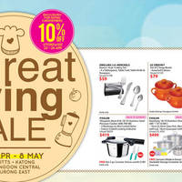 Read more about Isetan Great Living Sale 22 Apr - 8 May 2016