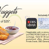 Read more about KFC Delivery Free Nuggets For DBS/POSB Cardmembers 2 Apr - 30 Jun 2016