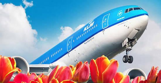 KLM Plane 13 Apr 2016
