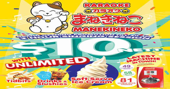 Karaoke Manekineko Feat 2 Apr 2016