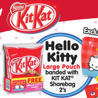 Read more about KitKat Free Hello Kitty Pouch @ Fairprice from 8 - 21 Apr 2016