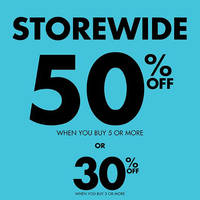 Read more about La Senza 50% OFF Storewide Promo 14 - 17 Apr 2016