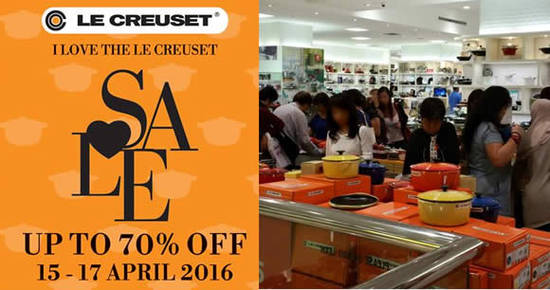 Le Creuset Feat 10 Apr 2016