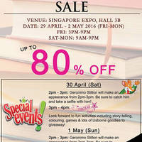 Read more about MPH Bookstores Books Sale at Singapore Expo from 29 Apr - 2 May 2016