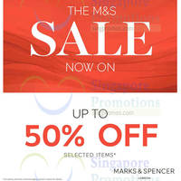 Read more about Marks & Spencer Sale Featuring Up To 50% off from 28 Apr 2016