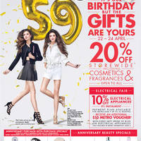 Read more about Metro 20% Off Storewide Promotion 22 - 24 Apr 2016