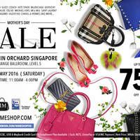 Nimeshop will be having a luxury branded handbags sale on 7 May at Mandarin Orchard, Grange Ballroom, Level 5 with discounts of up to 75% off.