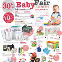 Read more about OG Baby Fair up to 30% off Baby Essentials 14 - 27 Apr 2016
