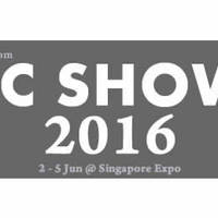 PC SHOW 2016 is the next IT SHOW in Singapore with IT related gadgets and hardware going at huge discounts on Jun 2016. The PC fair is to be held from 2 June to 5 June 2016 at Singapore Expo at Hall 5 and Hall 6, 12pm to 9pm daily