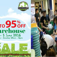 Pets' Station will be having a warehouse sale from 3 June to 5 June 2016. Discounts will be at up to 95% off on more than 1,000 products from 50 participating brands