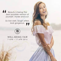 Read more about Robinsons Well-Being Fair 7 - 17 Apr 2016