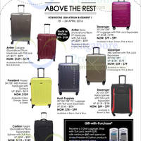 Read more about Robinsons Luggage Deals at JEM Atrium 18 - 24 Apr 2016