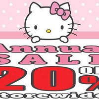 Read more about Sanrio 20% Off Storewide Annual Sale at 3 Outlets from 15 Apr - 1 May 2016