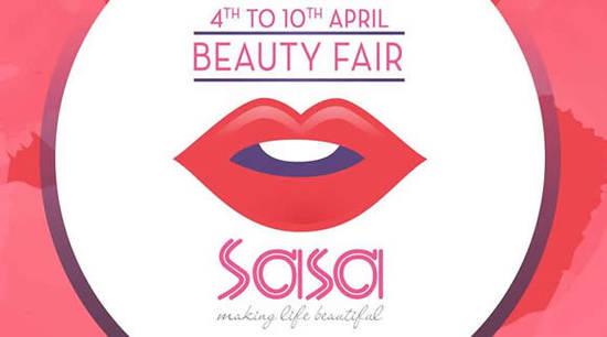Sasa Beauty Fair 4 Apr 2016
