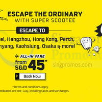 Read more about Scoot fr $45 all-in 2hr Take Off Tuesday Promo (7am to 9am) 12 Apr 2016