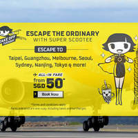 Read more about Scoot fr $50 all-in 2hr Take Off Tuesday Promo (7am to 9am) 5 Apr 2016