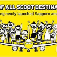 Scoot off to your favourite destinations with 20% off all Economy & ScootBiz Fares. Take your pick from any of the 21 Scoot destinations