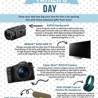 Read more about Sony's Father's Day Gift Guide