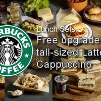 Read more about Starbucks Buy Lunch Set & Get Free Drink Upgrade 9 Apr - 8 May 2016
