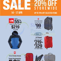 Read more about The Planet Traveller 20% Off Storewide 14 - 17 Apr 2016