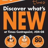 Times Bookstore at Centrepoint celebrates the long weekend with 20% off storewide