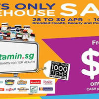 Read more about Vitamin.sg Warehouse Sale from 28 - 30 Apr 2016