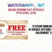 Read more about Waterway Point Free Coffee Giveaway from 12pm on 19 Apr 2016