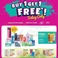 Read more about Watsons 1-for-1 Home Brand, Pure'n Soft & Orita 1-Day Promo on 20 Apr 2016