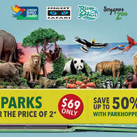 Read more about Wildlife Parks All 4 Parks for $69 Promotion From 1 Apr 2016