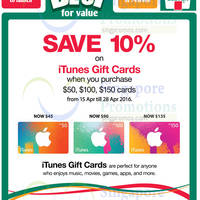 Read more about iTunes Gift Cards 10% OFF Promotion @ 7-Eleven 15 - 28 Apr 2016