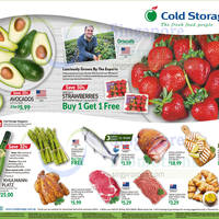 Read more about Cold Storage USA Strawberries (1-for-1), Norway Salmon, Avocados & More from 13 - 18 May 2016