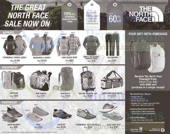 3 Jun The North Face Shirts, Backpacks, Shoes