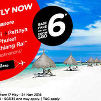 Read more about Air Asia fr $6* Promo Fares from 16 - 29 May 2016